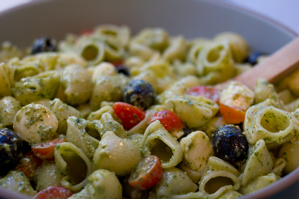 pesto pasta salad - The Answer is Always PorkThe Answer is Always Pork