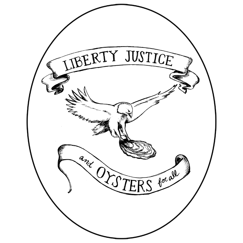 liberty, justice and oysters for all | Full recipe at The Answer is Always Pork