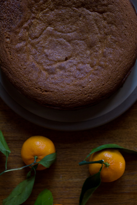 almond cake and tea | Full recipe at The Answer is Always Pork